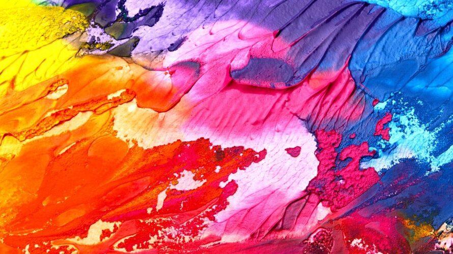 今日という人生にどんな色を塗りますか?